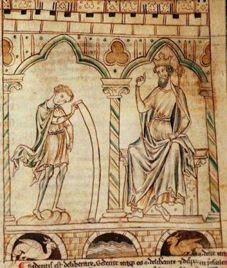 Cotton_Claudius_B_VII_f.224_Merlin_Vortigern