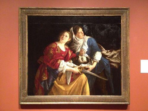 Gentileschi's Judith