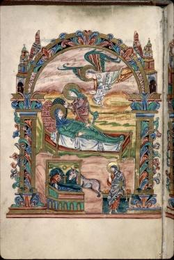 Sacramentary of Robert Jumieges-Nativity (32v)
