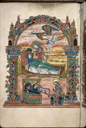 Sacramentary of Robert Jumieges-Nativity (32v)